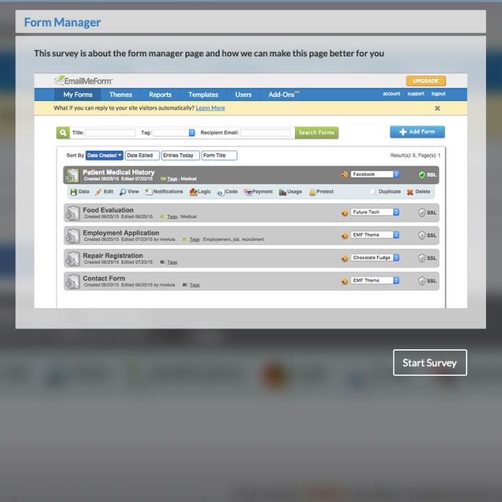 Feedback Forms Emailmeform