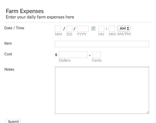 Online College Application Form Template Emailmeform