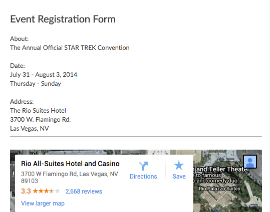 Easy to use online event registration form template emailmeform online event registration thecheapjerseys Choice Image